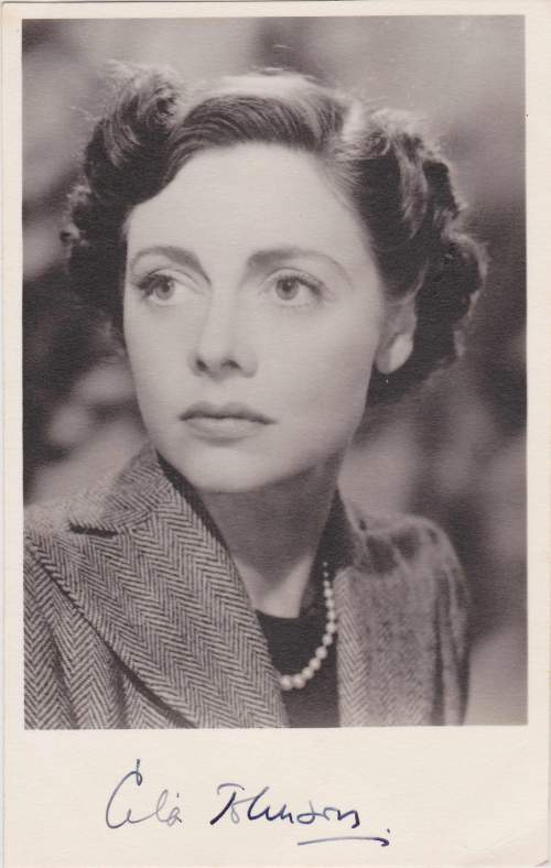 Celia Johnson in Brief Encounter