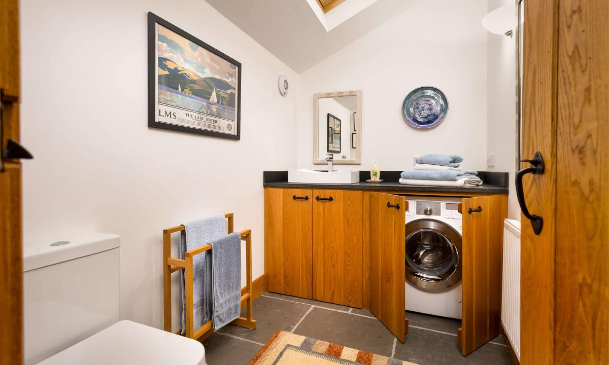 The Cottage at Hill Top - The utility room