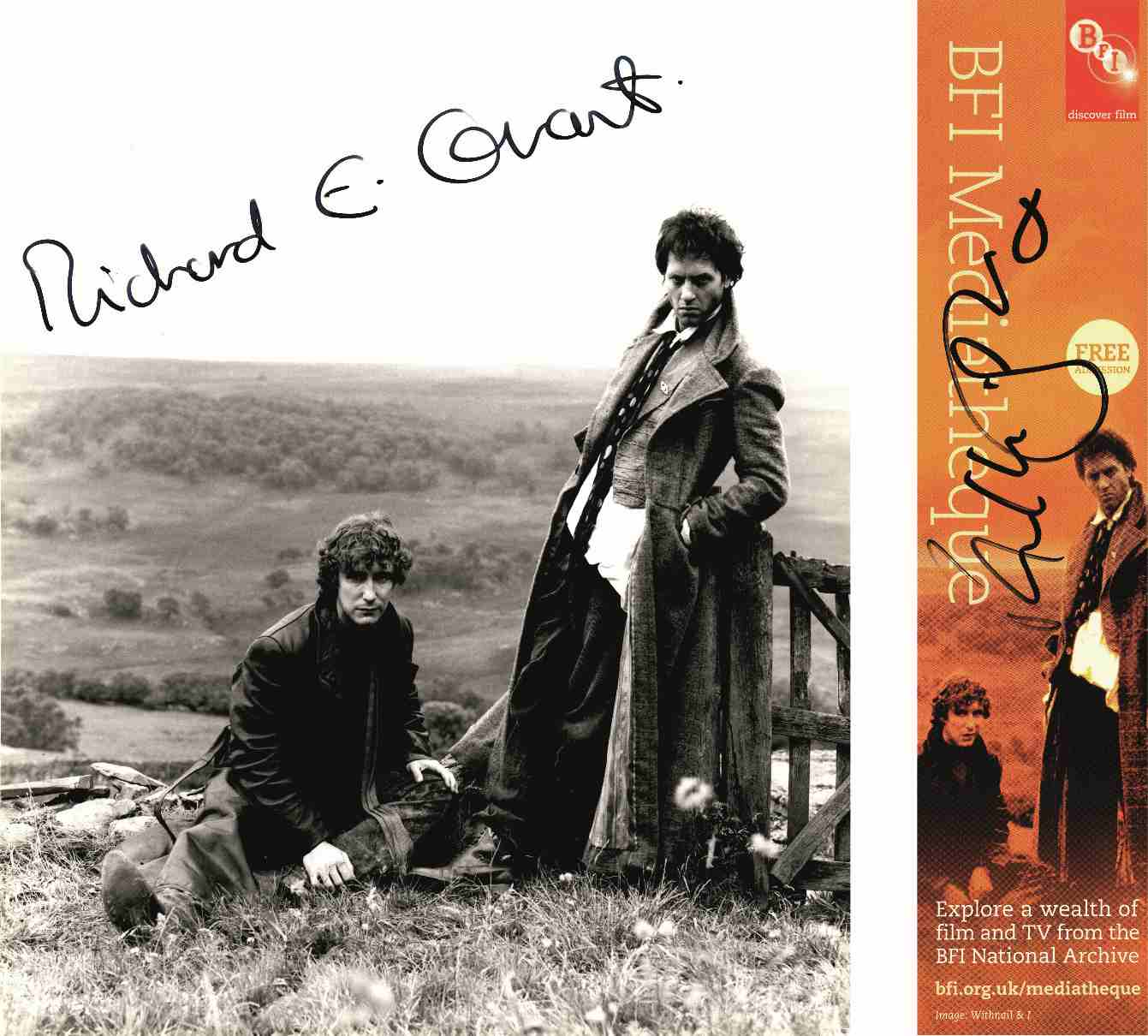 Richard E. Grant and Paul McGann in Withnail and I