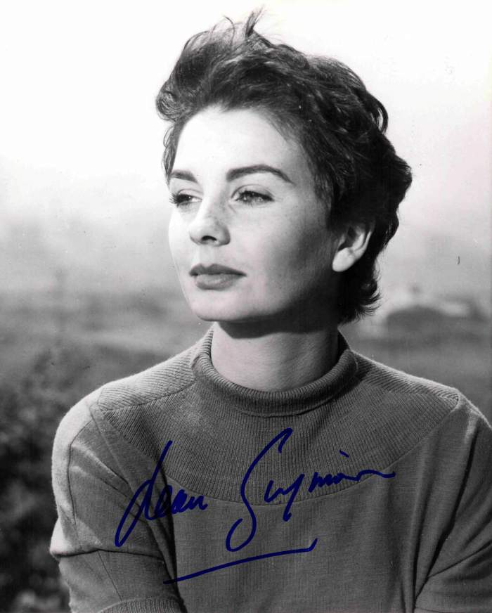 Jean Simmons in The Clouded Yellow