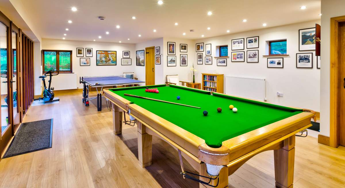 The Cottage at Hill Top - The Pavilion Games Room