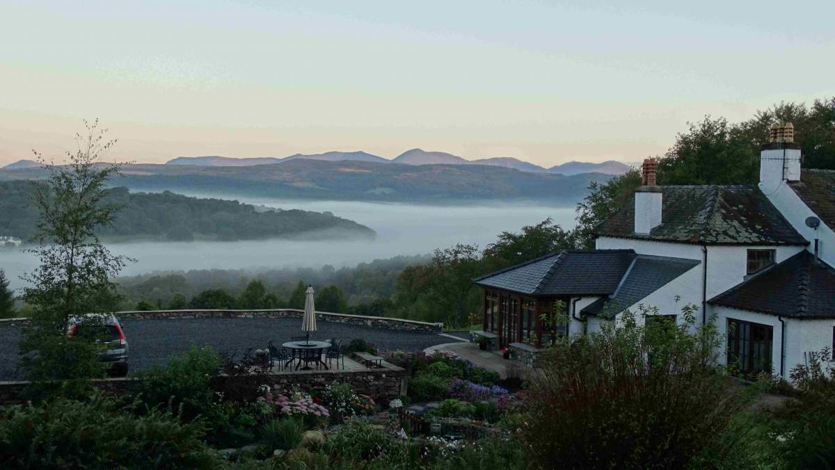 The Cottage at Hill Top - The Views - The Coniston Fells